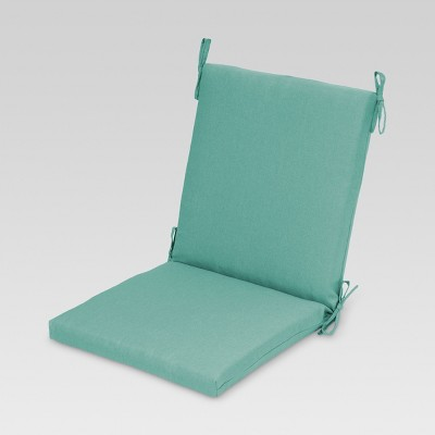 Outdoor Sectioned Chair Cushion - Turquoise - Threshold™