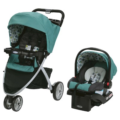 Graco Pace Click Connect Travel System - Boden