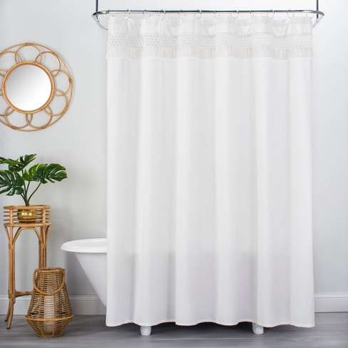 Macram233 Shower Curtain Cream Opalhouse Target