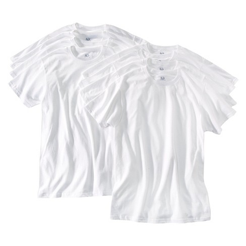 Fruit of the Loom - Men's 8Pk Crew-Neck T-Shirts White - image 1 of 1