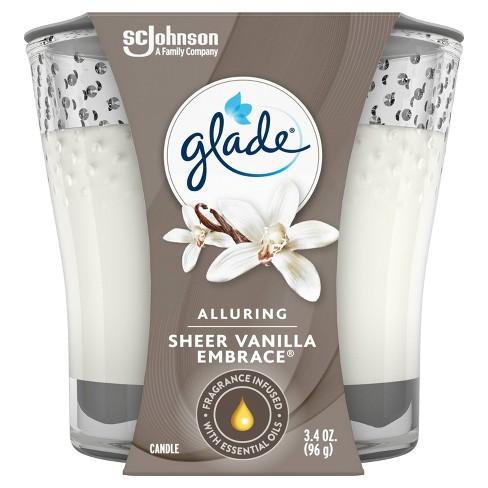 Glade Sheer Vanilla Embrace Candle - 3.4oz - image 1 of 4