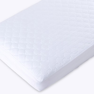 Puredown Waterproof Quilted Crib Mattress Topper