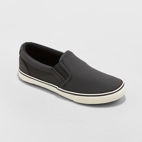 Boys' Enzo Sneakers - Cat & Jack™ Black - image 1 of 3