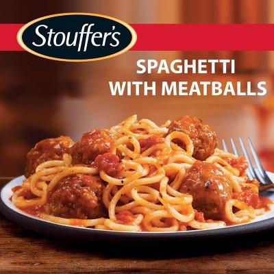 Stouffer's Classics Spaghetti With Frozen Meatballs - 12.62oz