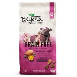 Purina Beyond Grain Free Natural Dry Dog Food Grain Free Beef & Egg Recipe - 13lb Bag