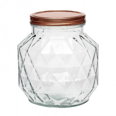 Amici Home Dakota Glass Canister, Medium, 72oz