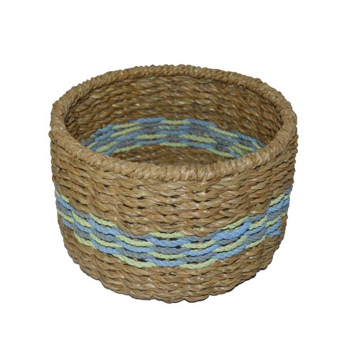 "6.25""x9.25"" Small Basket Blue Striped - Opalhouse™ - image 1 of 3"