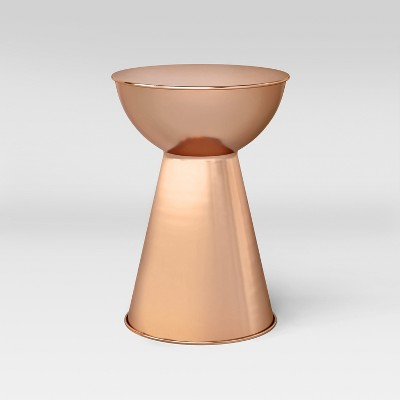 Manila Accent Table Copper Drum - Project 62™