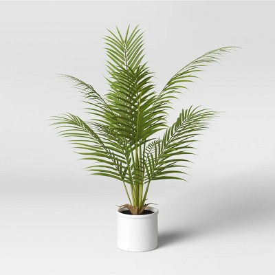 "28"" x 24"" Artificial Palm Plant Arrangement in Pot - Threshold™"
