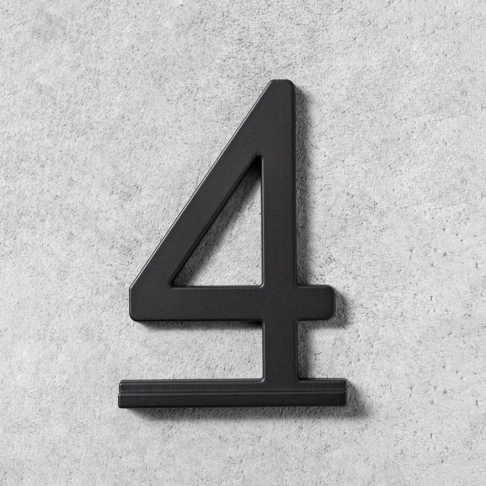 Image of 4 House Number Black - Hearth & Hand with Magnolia