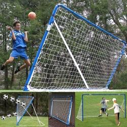 EZ Goal 12' x 6' Soccer Rebounder Pro-Series - Blue/White