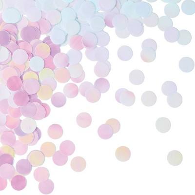 Iridescent Party Confetti Pink/Purple