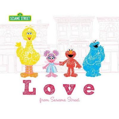 Love from Sesame Street - (Sesame Street Scribbles) (Hardcover) - by Sesame Workshop