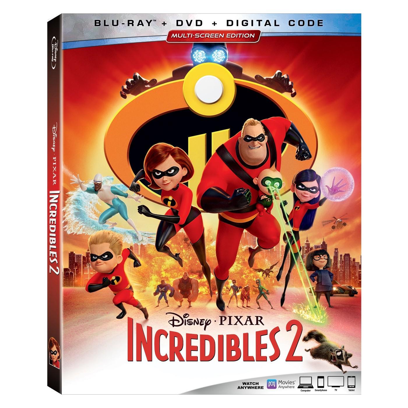 Incredibles 2 (2 Blu-Ray) - image 1 of 1