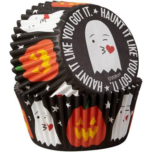 Wilton 75ct Paper Haunt It Like You Got It Halloween Cupcake Liners - image 1 of 3