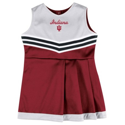 NCAA Indiana Hoosiers Girls' 2pc Cheer Set