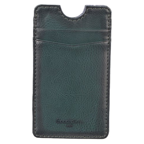 Men's Phone Case Pouch Wallet - Goodfellow & Co™ Green One Size - image 1 of 3