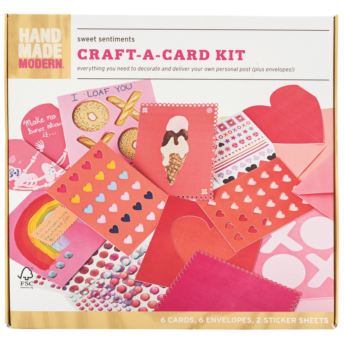 Hand Made Modern 14ct Craft-A-Card Kit - image 1 of 3