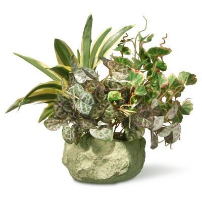 """Artificial Table Plant in Ceramic Pot 10"""" - National Tree Company"""