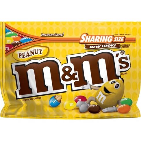 M&M's Peanut Chocolate Candies - 10.7oz - Sharing Size - image 1 of 4