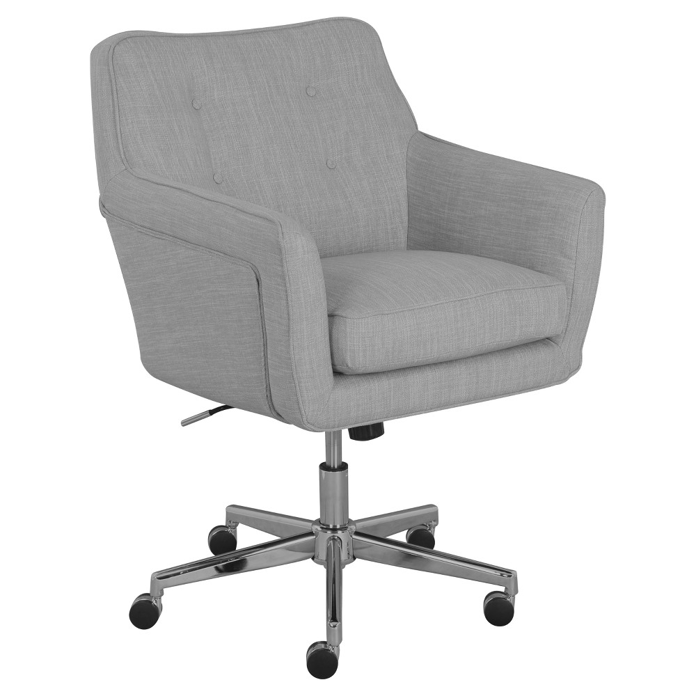 Ashland Home Office Chair - Dark Gray - Serta