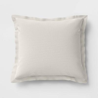 Woven Outdoor Deep Seat Pillow Back Cushion DuraSeason Fabric™ Linen - Threshold™