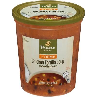 Panera Bread Gluten Free Chicken Tortilla Soup - 32oz