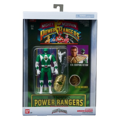 Mighty Morphin Power Rangers Legacy Green Power Ranger - image 1 of 5