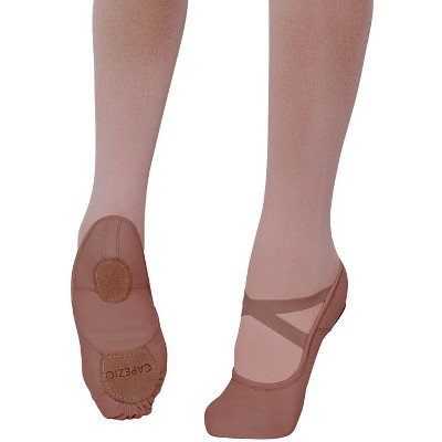 Capezio Mocha Hanami Ballet Shoe