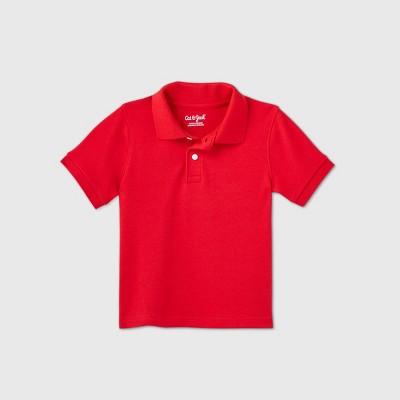 Toddler Boys' Short Sleeve Interlock Uniform Polo Shirt - Cat & Jack™