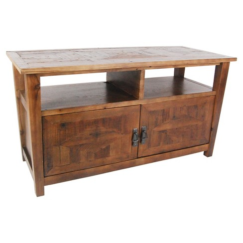 "45"" TV Stand Reclaimed Wood Natural - Alaterre Furniture® - image 1 of 2"
