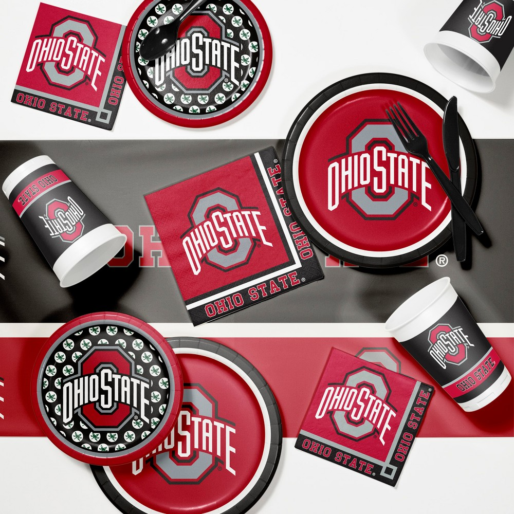 Creative Converting Ohio State University Game Day Party Supplies Kit