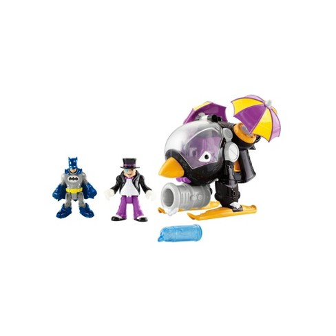 Fisher-Price Imaginext DC Comics Super Friends The Penguin Copter Giftset - image 1 of 4