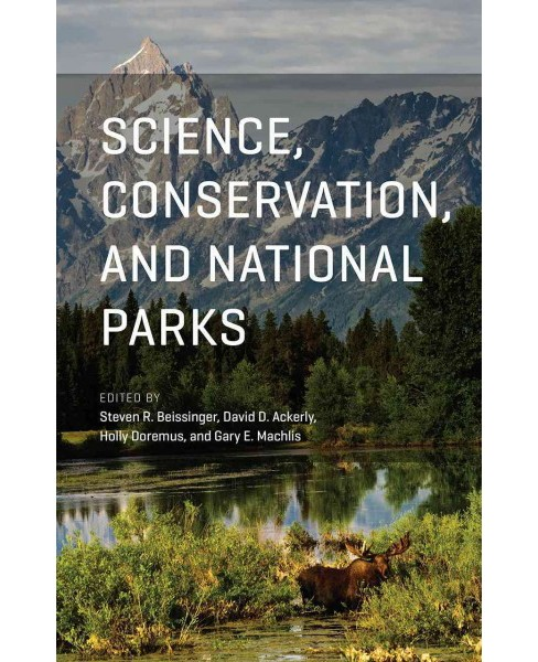 Science, Conservation, and National Parks (Paperback) - image 1 of 1