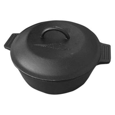 Bayou Classic Cast Iron 4qt Covered Casserole