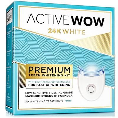 Active Wow White Premium Teeth Whitening Kit