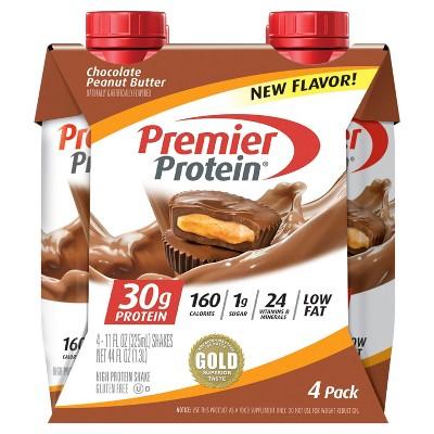 Premier Protein Shake - Peanut Butter - 4pk