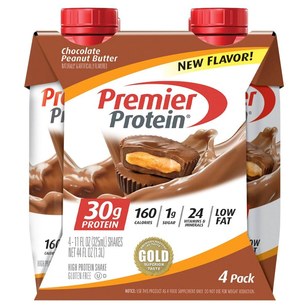 Premier Protein Shake Peanut Butter 4pk