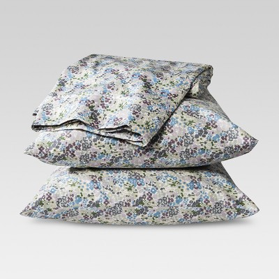 Performance Sheet Set (Queen)Floral Purple 400 Thread Count - Threshold™