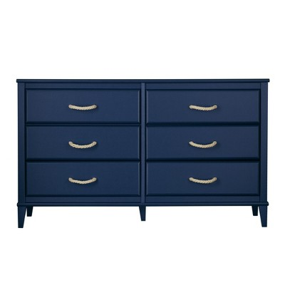 Sierra Ridge Mesa Blue Kids' 6 Drawer Dresser