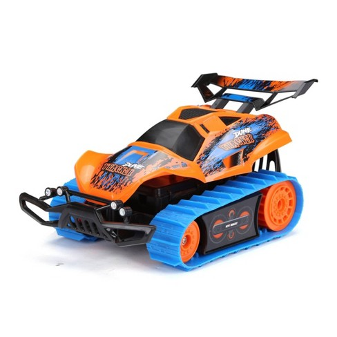 New Bright 1:18 R/C Dirt Trax- Orange - image 1 of 4