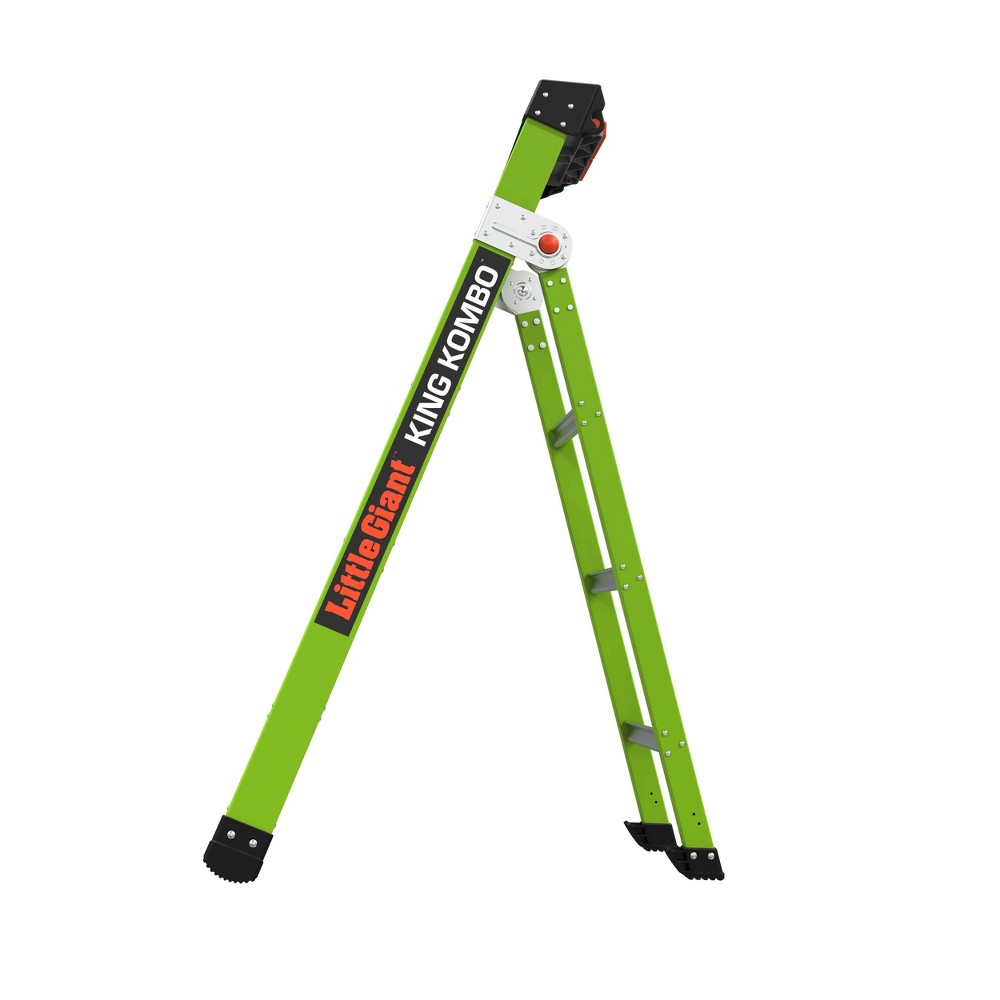 Little Giant Ladder Systems 5 39 Ansi Type Iaa Ladder Apple Green