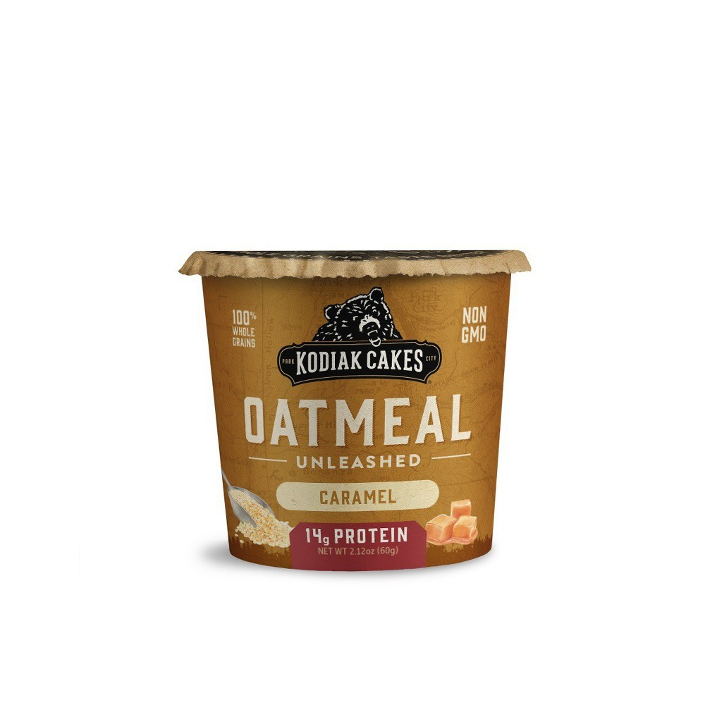 Kodiak Cakes Caramel Oatmeal in a Cup - 2.25oz