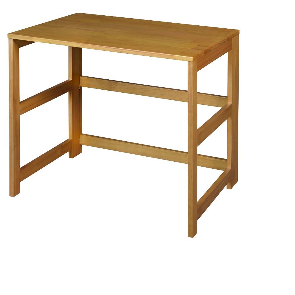 "Image of ""Flip Flop 31"""" Folding Desk Medium Oak - Niche, Brown"""