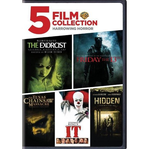 5 Film Collection Harrowing Horror Collection Dvd Target