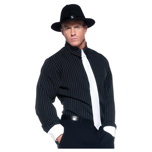 Men's Gangster Shirt Striped Standard Costume One Size Fits Most - image 1 of 1