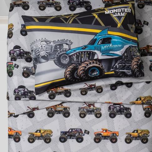 Monster Jam Twin Sheet Set Target, Twin Monster Bedding