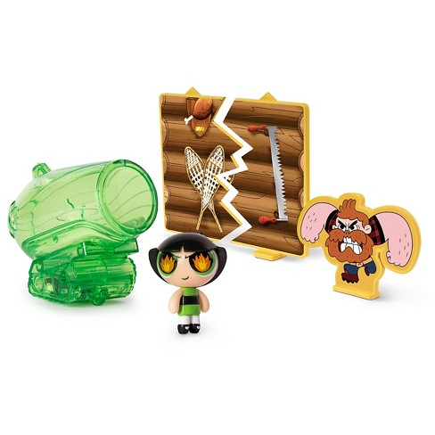 "The Powerpuff Girls' Aura Power Pod with 2"" Buttercup Figure - image 1 of 4"