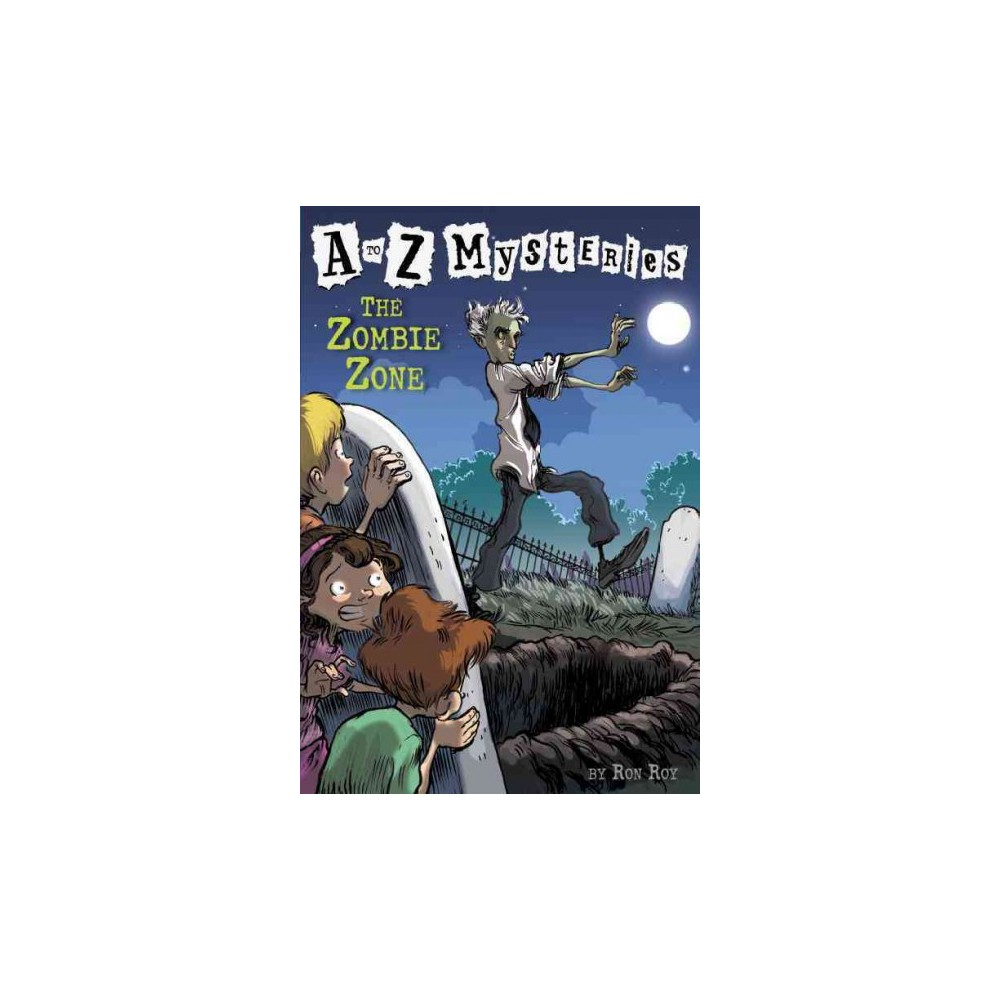 The Zombie Zone ( A to Z Mysteries) (Paperback)