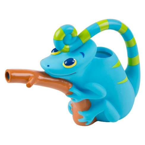 Melissa & Doug® Sunny Patch Camo Chameleon Watering Can With Tail Handle and Branch-Shaped Spout - image 1 of 3